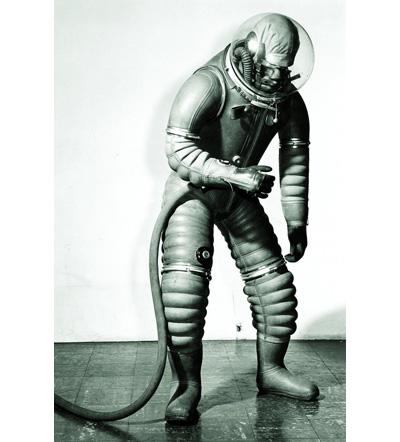 Mark 1 Tomato Worm Suit, by B. F. Goodrich.