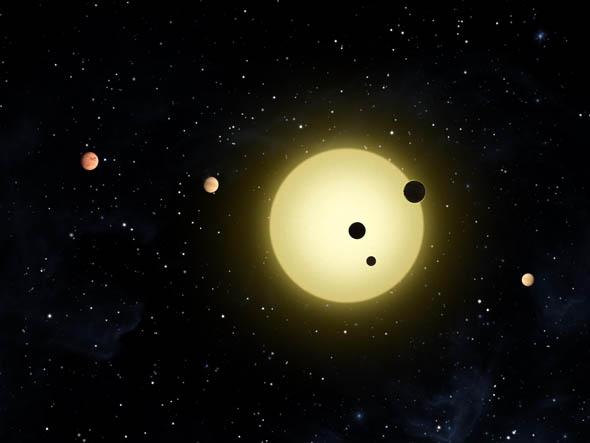 système planétaire Kepler-11