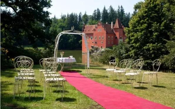 Svatba na zámku Červená Lhota