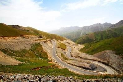 Kyrgyzská část Pamir Highway