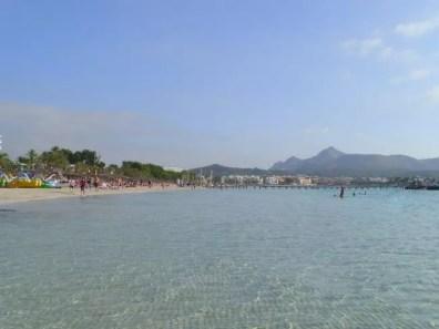 Pláž v Alcúdia