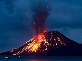 Volcan Krakratoa