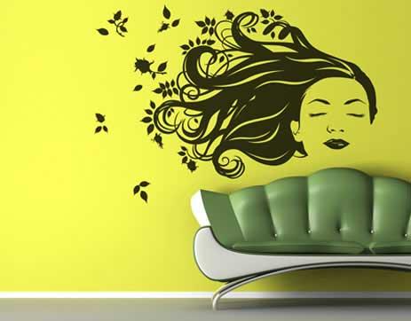 Vinilos decorativos: paredes atractivas y divertidas