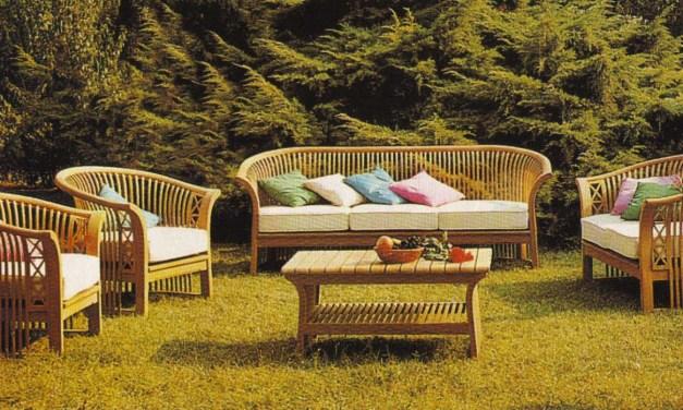 Muebles de exterior: vida en el jardín
