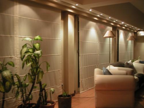 Cortinas romanas un estilo lujoso y acogedor - Sistemas para cortinas ...