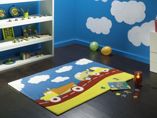 Alfombras infantiles, habitaciones más divertidas