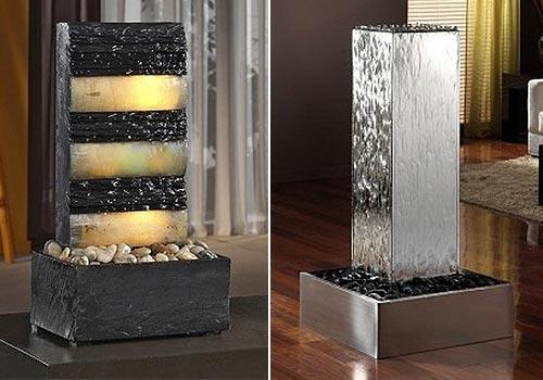 Fuentes de interior sutileza y relax - Fuentes de pared modernas ...