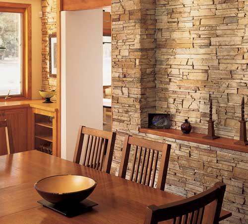 Revestimiento de piedra elegancia y solidez - Revestimientos de piedra interiores ...