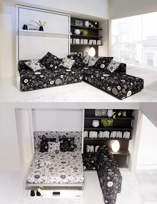 Muebles Multifuncionales Para Espacios Pequeos