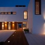 Iluminación de fachadas, atractiva y eficaz