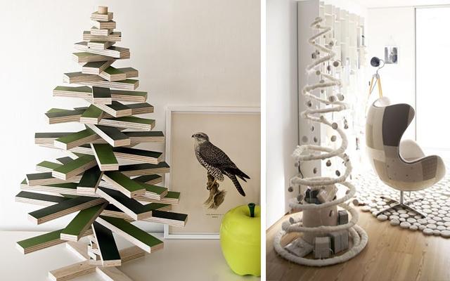 8 alternativas para rboles de navidad modernos - Arbol navidad moderno ...