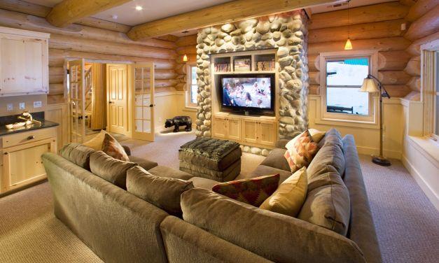 Decoración de casa rústica moderna