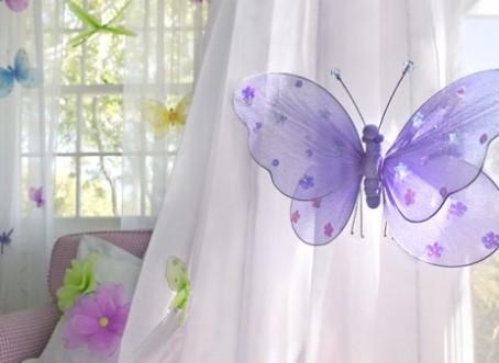 cortina mariposa