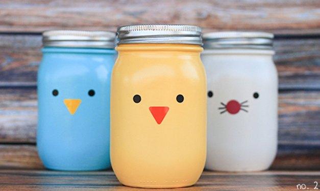 Cómo decorar frascos de vidrio: 5 tips fáciles y baratos