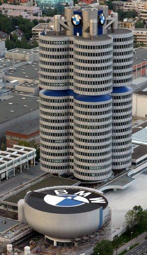 BMW Administration Building Zaha Hadid