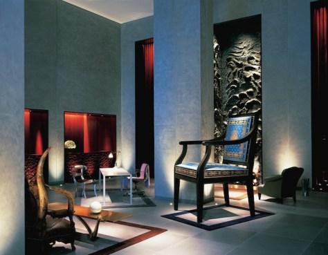Silla del hotel Clif de San Francisco, diseñado por Philippe Starck.