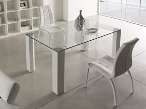 mesa acristalada