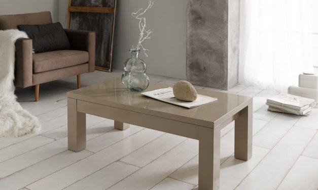 Cómo decorar una mesa de centro (Serie 1: Mesas de madera y cristal)