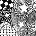 Zentangle para decorar cuadernos