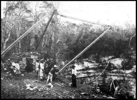 El cenote sagrado de Chichén itzá.