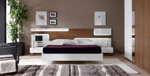 decorar una cama al estilo minimalista