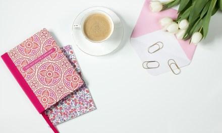 Decorar cuadernos: el arte de decorar porque sí.