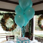 globos para organizar un baby shower