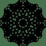 Mandala para decorar cuadernos