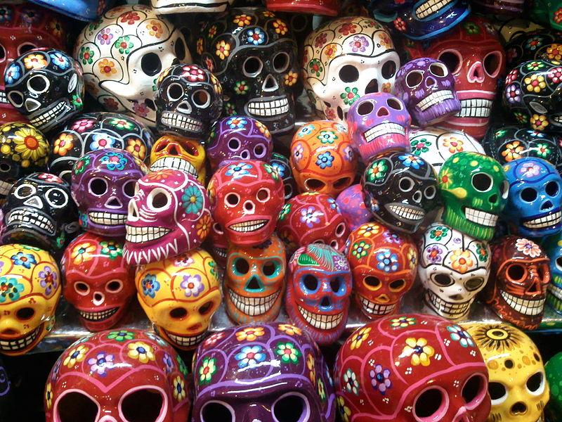 Calaveras estilo mexicano