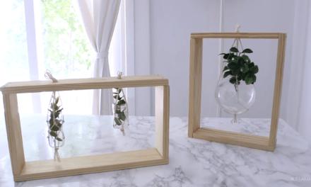 Cosas para hacer con madera: 3 DIYS fáciles y económicos.
