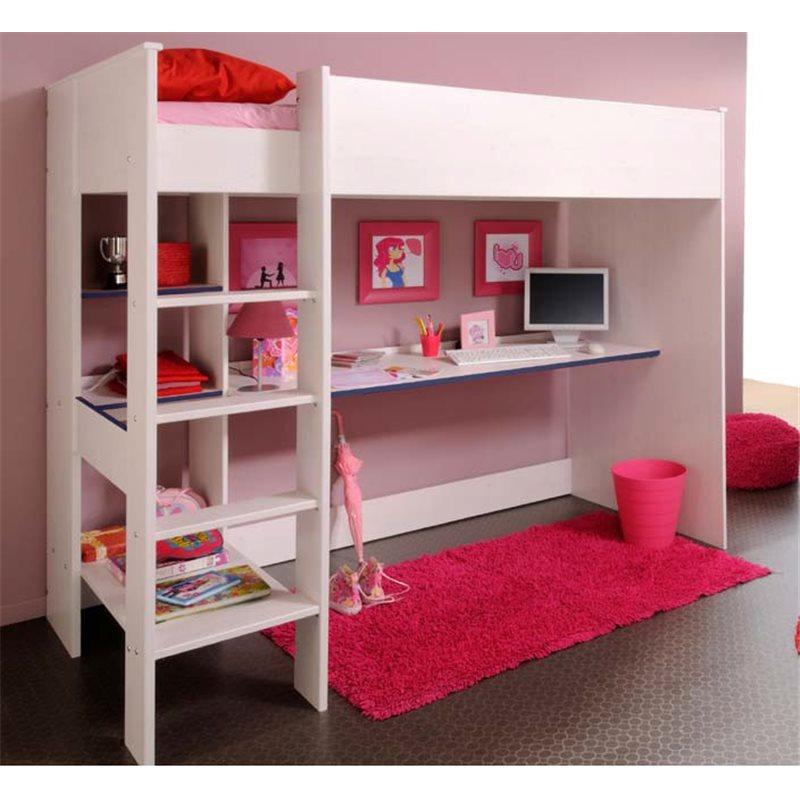 ideas para aprovechar espacios con camas altas