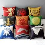 almohadones estilo juego de tronos