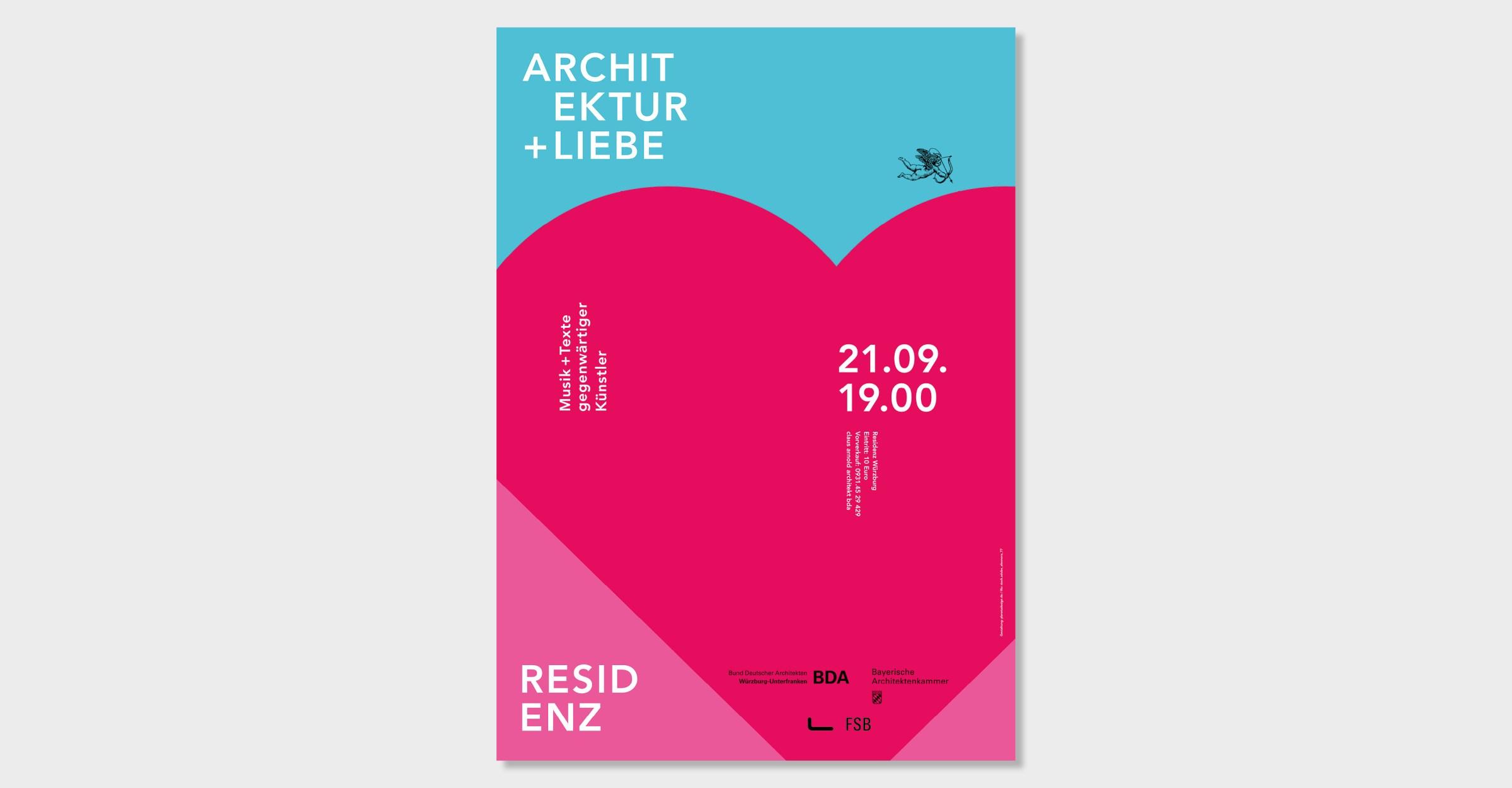 BDA Residenz Wuerzburg Plakat