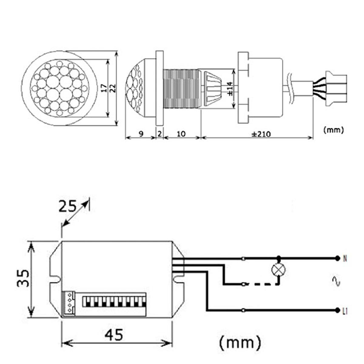 Detector De Movimientos Pir