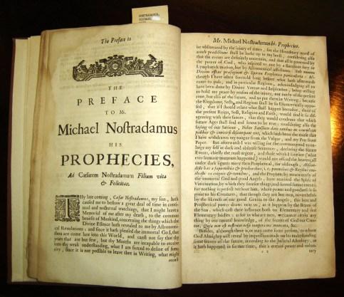 Resultado de imagen de profecias nostradamus