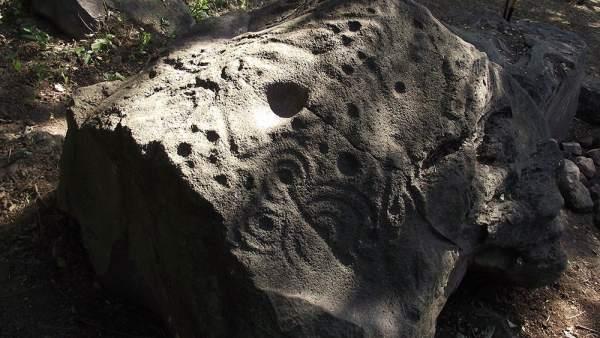 Petroglifos en México