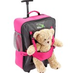 Kids hand Luggage Pink Bear Bag The ideal children's suitcase