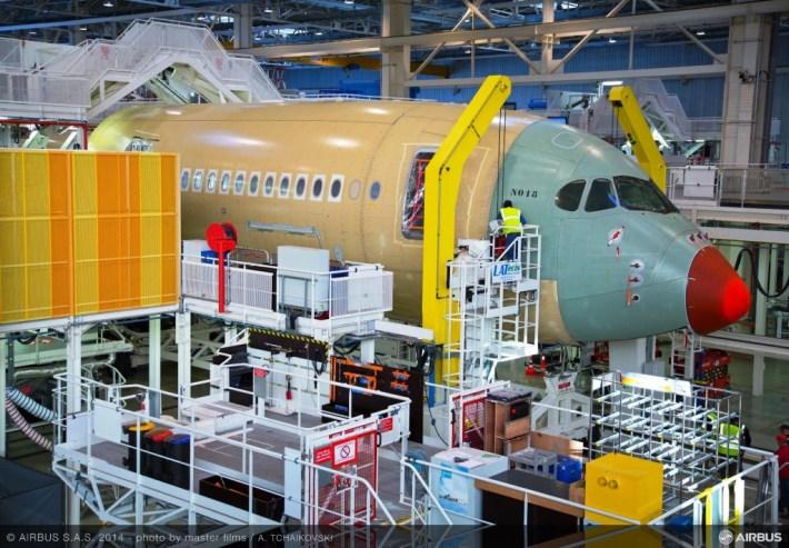 Finnair Airbus A350 XWB Assembly