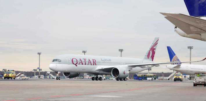 Qatar Airways Inaugurates World's First A350 -XWB Route from Doha to Frankfurt