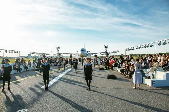 Helsinki Airport Match Made In HEL set-up