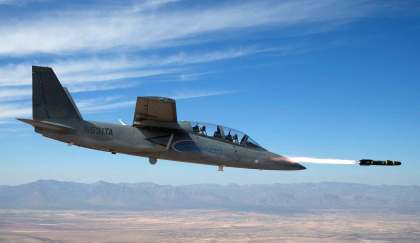 Scorpion jet successfully completes first weapons capability exercise