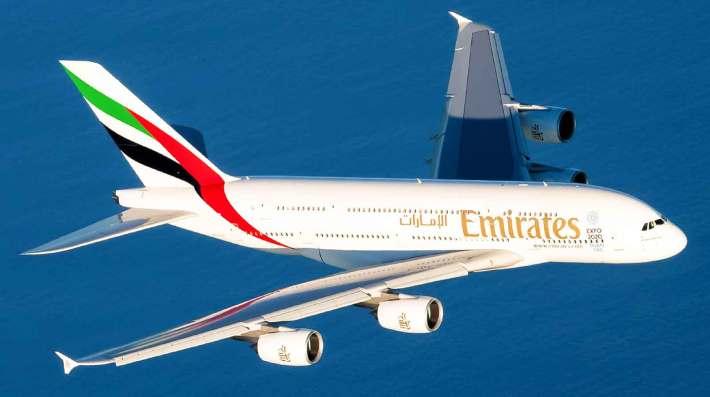 Emirates A380 on Tokyo flights