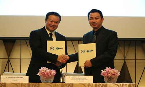 TAT and Thailand Airports Authority sign MoU to promote tourism