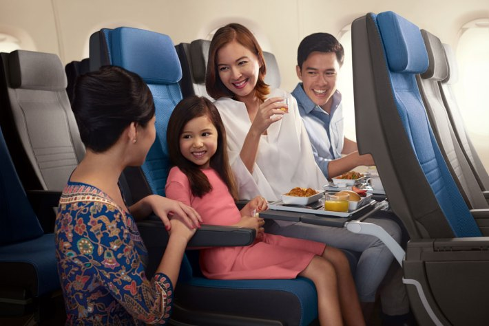 New Singapore Airlines A380 Economy Class seats