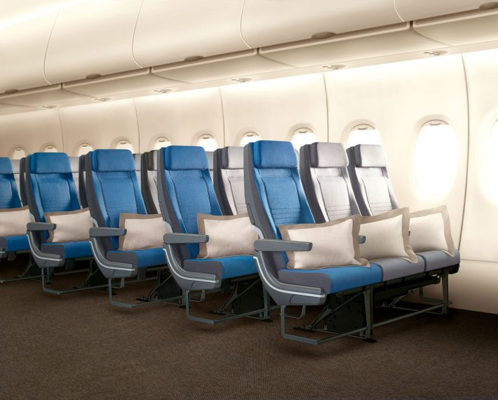 Singapore Airlines A380 new Economy Class seats
