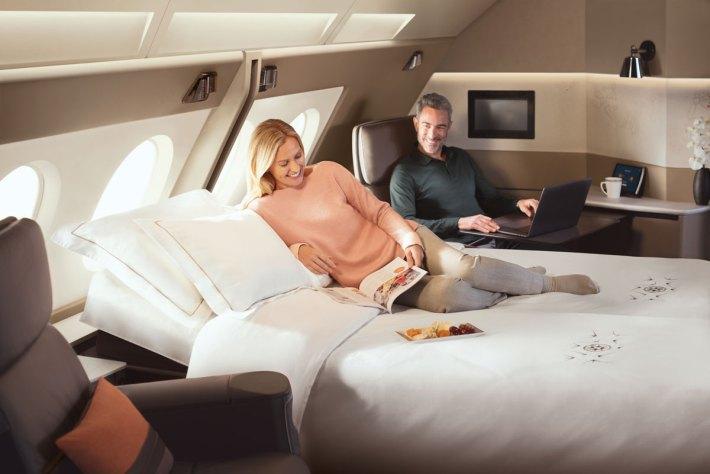 Singapore Airlines Airbus A380 Suite