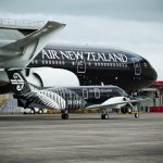 Air New Zealand All Black Boeing 777-300ER with Beech 1900