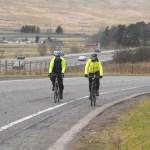 Alongside the A74M heading towards Moffat