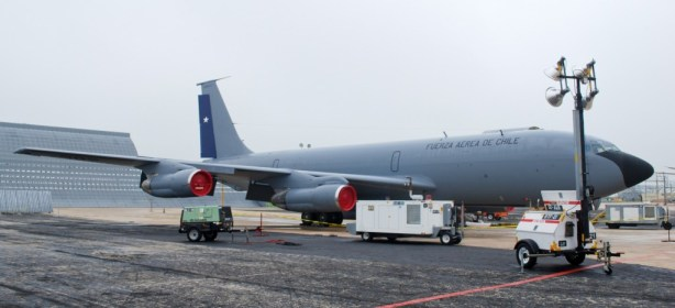 Programmed Depot Maintenance completed on 3rd Boeing KC-135E for Chile