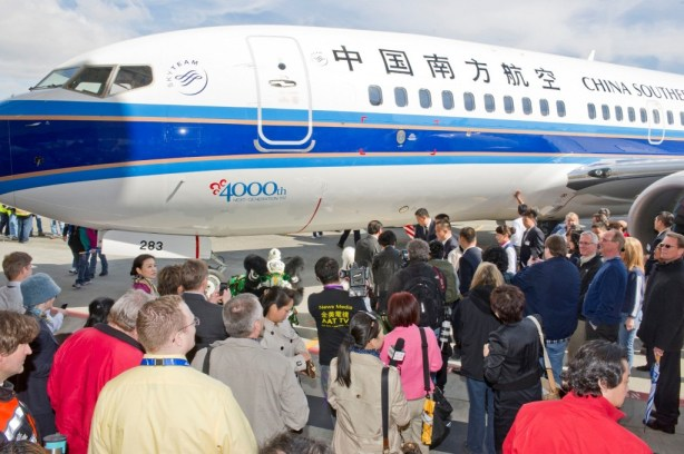 Boeing celebrates 4,000th Next-Generation 737 delivery